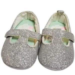 5/$25 Child of Mine by Carter's Sparkle Crib Shoes